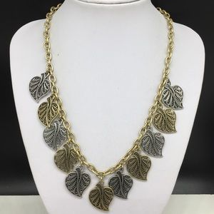 Lucky Brand Leaves Leaf Necklace